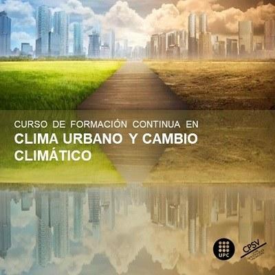 Curs de formació continua en Clima Urbà i Canvi Climàtic