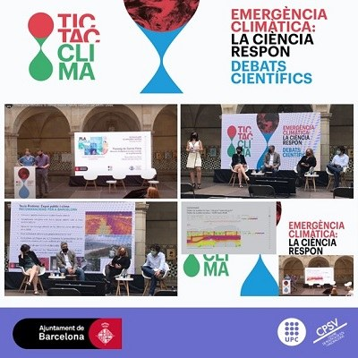 """EL CPSV PARTICIPA EN """"TIC TAC CLIMA"""" - LA CIÈNCIA RESPON"""