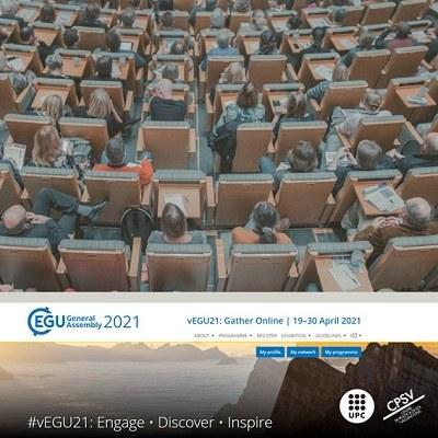 Investigadors del CPSV participen al EGU 2021