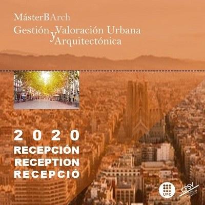 Recepció d'estudiants de la línia de Gestió i Valoració Urbana i Arquitectònica del MBArch
