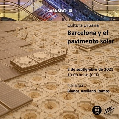 CASA SEAT event: Barcelona and the solar pavement