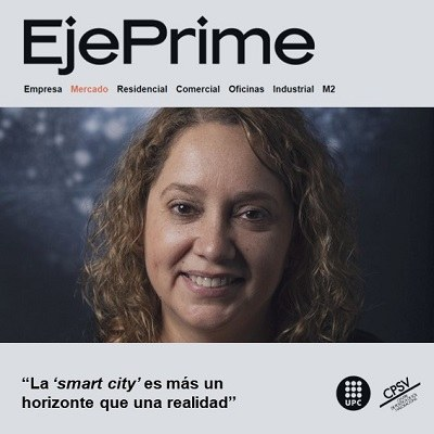 Interview about SMART CITIES with Blanca Arellano Ramos, a researcher at the CPSV