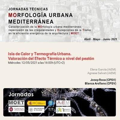 Mediterranean Urban Morphology Technical Sessions