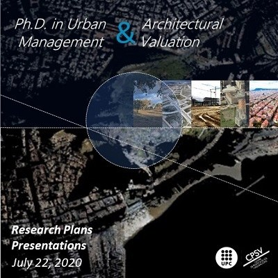 Presentation 2019-2020 of the Research Plans of the Urban and Architectural Management and Valuation Doctorate
