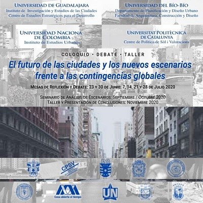 The future of cities and new scenarios facing global contingencies